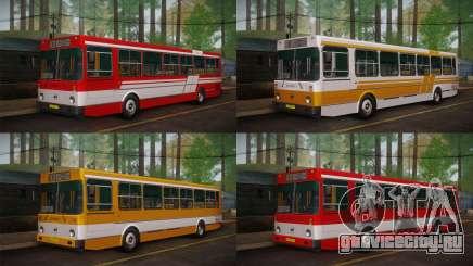 ЛиАЗ 5256.00 Скин-пак 1 для GTA San Andreas