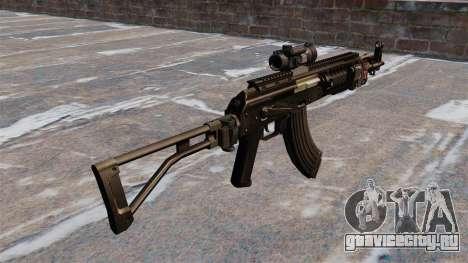 Автомат Калашникова AK-47 Sopmod для GTA 4 второй скриншот