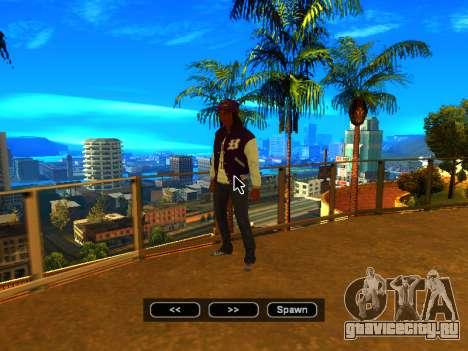 Пак скинов девушек для GTA San Andreas одинадцатый скриншот