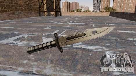 Штык-нож M9 для GTA 4