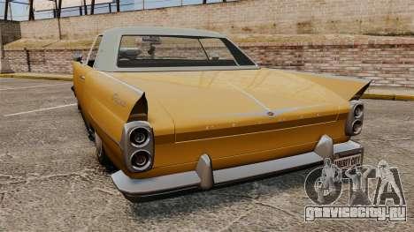 Peyote 1950 для GTA 4 вид сзади слева