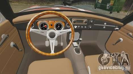 MG MGB GT 1965 для GTA 4 вид сзади
