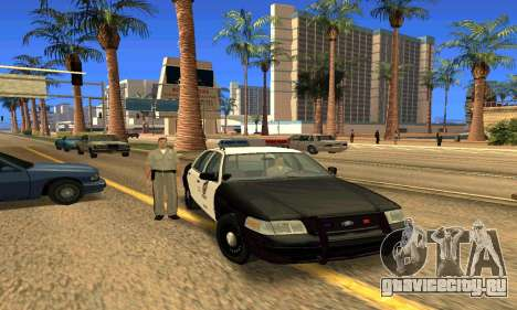 Ford Crown Victoria Police LV для GTA San Andreas