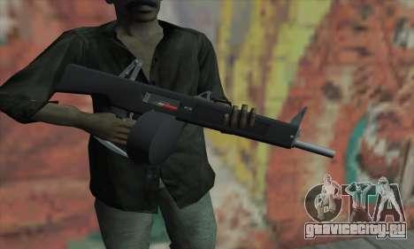 AA-12 для GTA San Andreas третий скриншот