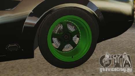 Ford Mustang RTRX для GTA 4 вид сзади