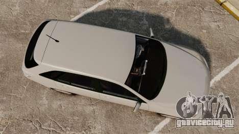 Toyota Altezza Gita для GTA 4 вид справа
