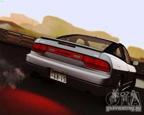 Nissan 240SX S13 v1.0 для GTA San Andreas вид слева