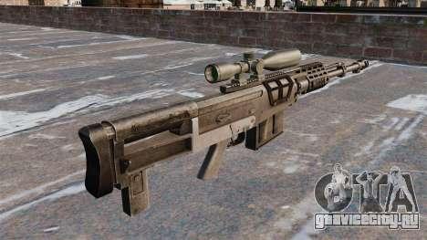 Снайперская винтовка AS50 для GTA 4 второй скриншот