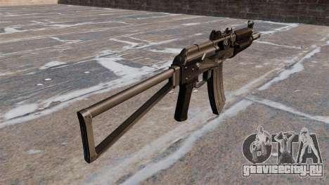 Автомат АКС74У для GTA 4 второй скриншот