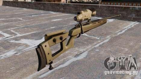 Снайперская винтовка GOL-Sniper Magnum для GTA 4 второй скриншот