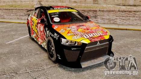 Mitsubishi Lancer Evolution X Ryo King для GTA 4