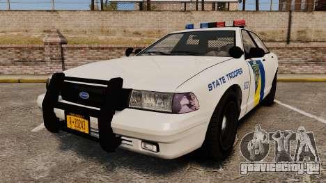 GTA V Vapid State Police Cruiser [ELS] для GTA 4