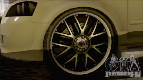 Audi S3 для GTA San Andreas вид сзади слева