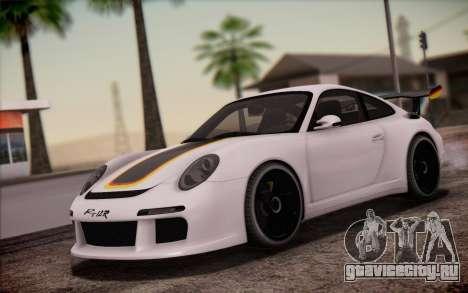 RUF RT12R для GTA San Andreas салон