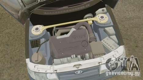 ВАЗ-2110 для GTA 4 вид сзади