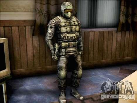 Военный из Зов Припяти для GTA San Andreas второй скриншот
