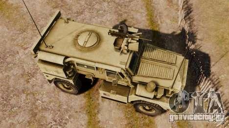 Cougar MRAP 4X4 для GTA 4 вид справа