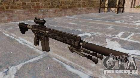Автоматическая винтовка HK417 для GTA 4