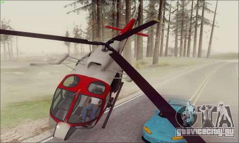 GTA V Ambulacia Maverick для GTA San Andreas вид слева