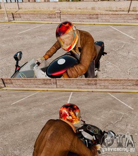 Байкерские шлемы для GTA 4 второй скриншот