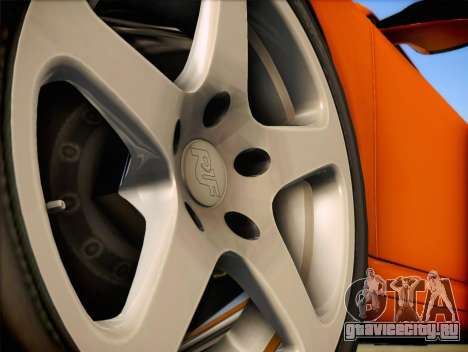 RUF RT12S для GTA San Andreas вид справа