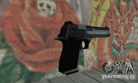 Desrt Eagle чёрный для GTA San Andreas второй скриншот