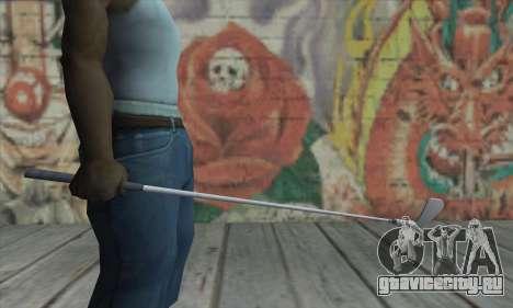 Клюшка для гольфа из GTA V для GTA San Andreas третий скриншот
