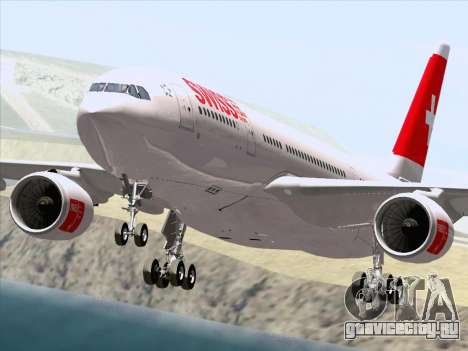 Airbus A330-223 Swiss International Airlines для GTA San Andreas