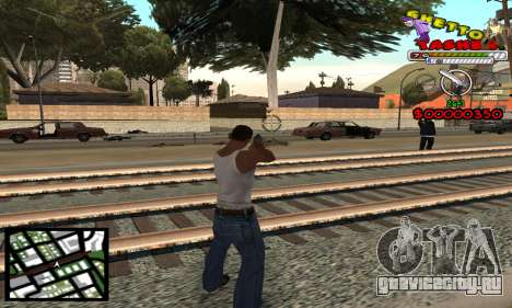 C-Hud Getto Tawer для GTA San Andreas