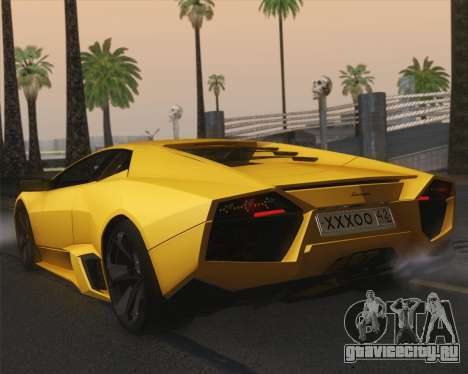 Lamborghini Reventon 2008 SLOD для GTA San Andreas вид слева