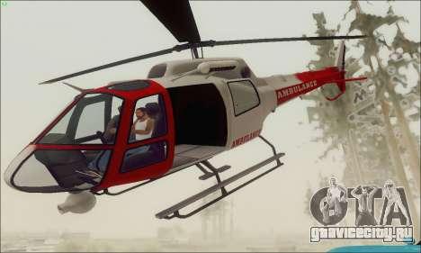 GTA V Ambulacia Maverick для GTA San Andreas