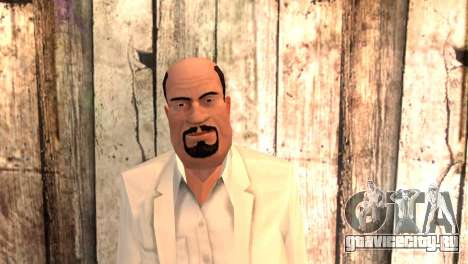 Джозеф Клэренс для GTA San Andreas третий скриншот