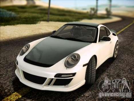 RUF RT12S для GTA San Andreas вид снизу