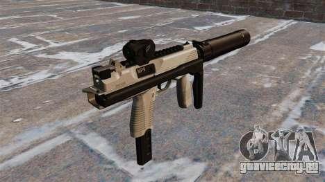Тактический пистолет-пулемёт MP9 для GTA 4 второй скриншот