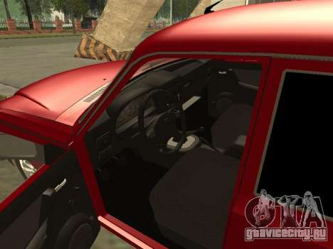 ГАЗ 3110 Волга для GTA San Andreas вид сзади