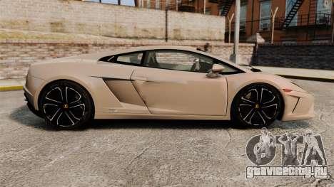 Lamborghini Gallardo 2013 v2.0 для GTA 4 вид слева