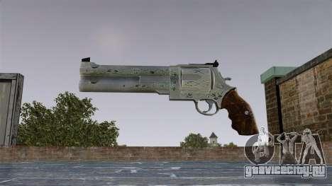 Револьвер -Blue Rose- для GTA 4 третий скриншот