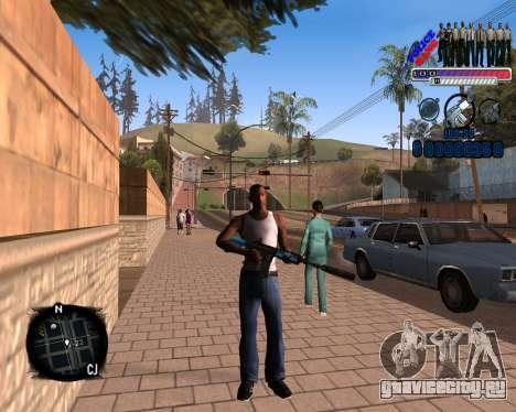 C-HUD Police Gang для GTA San Andreas