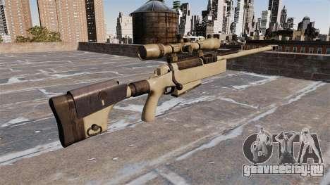 Снайперская винтовка McMillan TAC-50 для GTA 4 второй скриншот