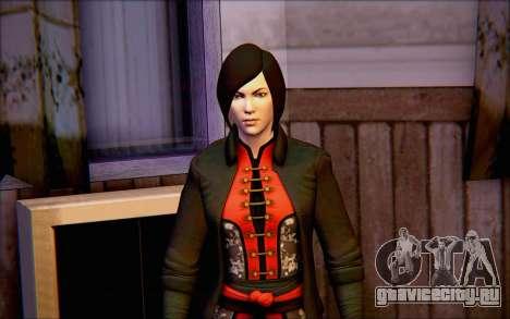 Леди Шива из игры Batman Arkham Origins для GTA San Andreas