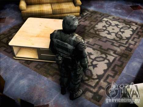Военный из Зов Припяти для GTA San Andreas третий скриншот