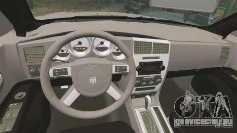 Dodge Charger SE 2006 для GTA 4 вид сбоку