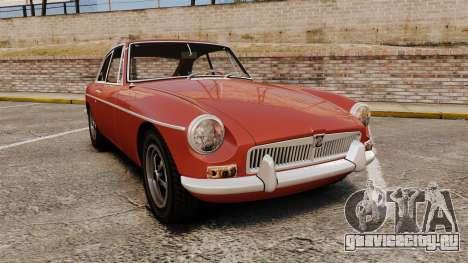 MG MGB GT 1965 для GTA 4