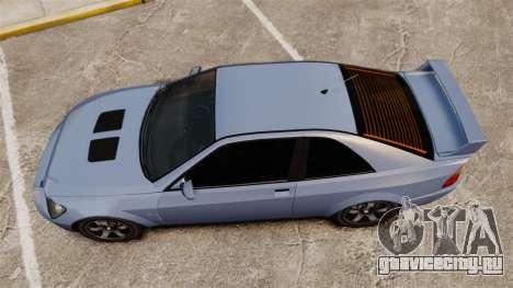 Sultan Coupe для GTA 4 вид справа