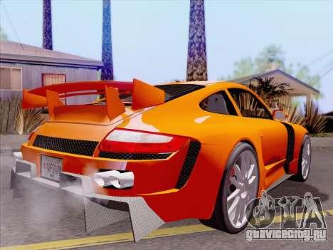 Porsche Carrera S для GTA San Andreas двигатель