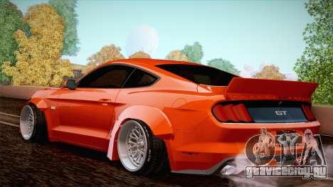 Ford Mustang Rocket Bunny 2015 для GTA San Andreas вид справа