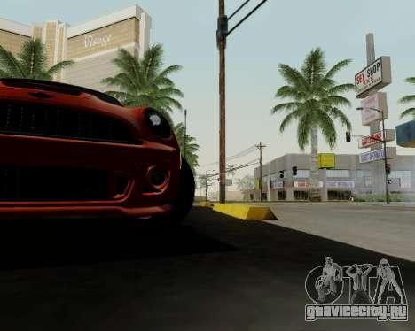 MINI Cooper S 2012 для GTA San Andreas двигатель