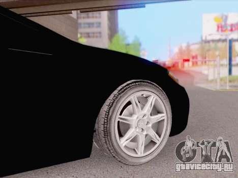 Mitsubishi Eclipse v4 для GTA San Andreas вид сзади слева