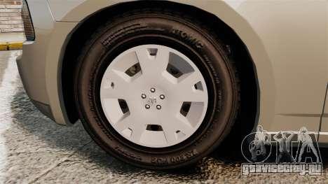 Dodge Charger SE 2006 для GTA 4 вид сзади