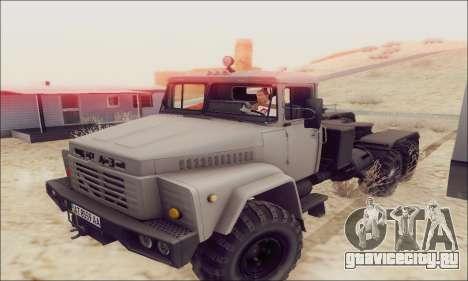 КрАЗ 260В для GTA San Andreas